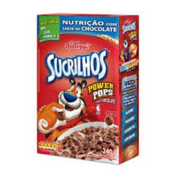 Sucrilhos Cereal Power Sabor de Chocolate Kellogg's
