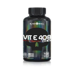 Suplemento Vitamina D3 Black Skull 100 Cápsulas