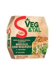 Torta Veg&Tal Sadia Integral Brócolis/Requeijão 500 g