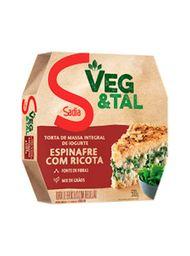 Torta Veg&Tal Sadia Integral Ricota/Espinafre 500 g