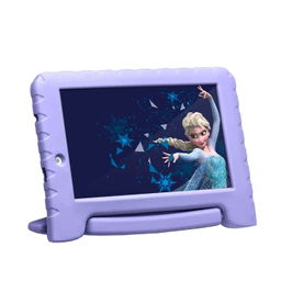 "Tablet Infantil Multilaser Frozen Plus Wi-Fi Tela 7"" 16Gb Lilás"