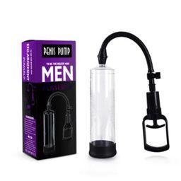 Bomba De Sucção Peniana Manual Men Power