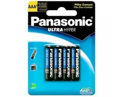 Pilhas Aaa Ultra Hyper Panasonic Pct Com 4 Und