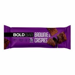 Bold Barra de Proteina Bar Snacks Brownie & Crisps