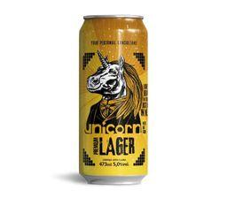 Cerveja Premium Lager - Unicorn 473 mL