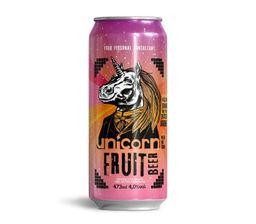 Cerveja Fruit Beer - Unicorn 473 mL