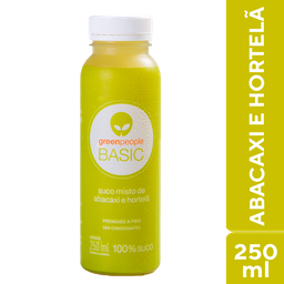 Greenpeople Suco de Abacaxi e Hortelã 250ml