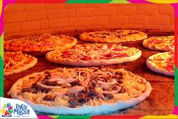 Pizza de Camarão com Cheddar