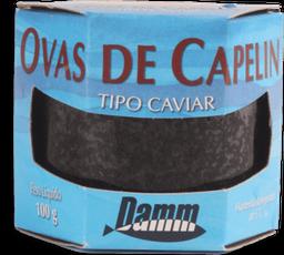 Caviar Preto Damm Defumado 100 g