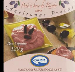 Patê Mr Cream Damm Queijo/Azeitona 120 g