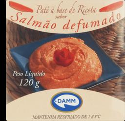 Patê Mr Cream Damm Queijo/Salmão 120 g