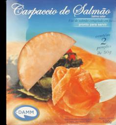Salmão Carpaccio Damm 100 g