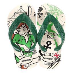 Sandália Havaianas Kids Peter Pan Bege Palha 25/26