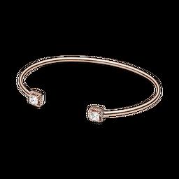 Bracelete Rigido Aberto Pandora Rose Elegância Eterna
