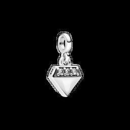 Charm Pendente Pandora Me Meu Brilhante Diamante