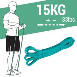 Super Band 15 Kg Elástico Para Exercício Funcional E Alongamento