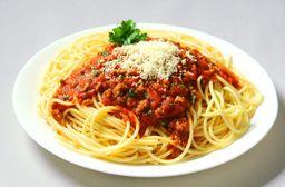 Espaguete Bolognese Gratinado