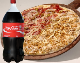 Combo Meio a Meio + Coca