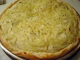 Pizza de Cebola