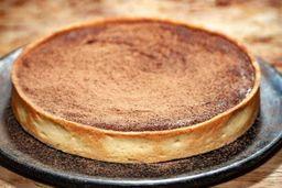 Torta de Caramelo com Chocolate e Flor de Sal