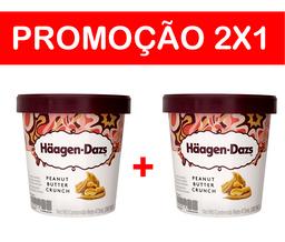 2x1 - Sorvete Häagen-Dazs - Peanut Butter - 473 mL  - Cód 307154