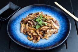 Shitake ou Shimeji na Manteiga