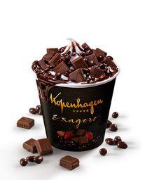 McFlurry Kopenhagen Exagero Calda de Chocolate