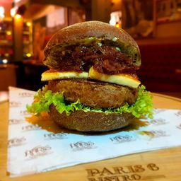Grand Burger Angus au Fromage et Échalotte