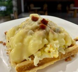 Waffle com Ovos