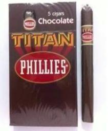 Charuto Titan de Chocolate - Unidade