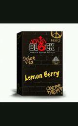 Essência de Narguilé Adalya Black Lemon Berry