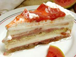 Torta de Sorvete Goiabada com Queijo
