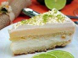 Torta de Sorvete de Limão