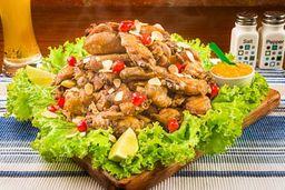 Porção Big Frango à Passarinho e Fritas - 2kg