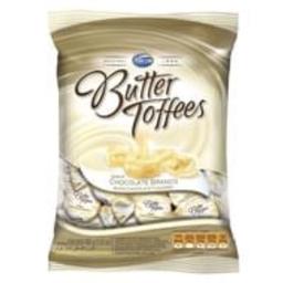 Butter Toffees Bala Mastigável Chocolate Branco