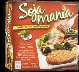 Soja Mania Hambúrguer de Soja Empanado Salsa e Alho