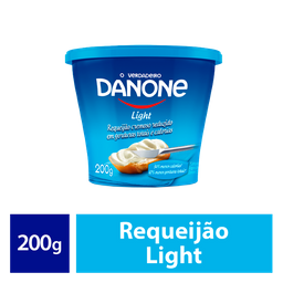 Danone Requeijão Light Cremoso