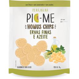 Pic Me Chips Homus Azeite e Ervas