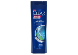 Shampoo Clear Men Anticaspa Ice Cool Mentol 400 mL