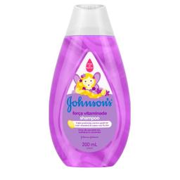 Johnsons Baby Shampoo Johnson's Força Vitaminada