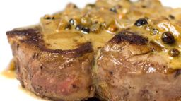 Steak Aux Trois Poivre