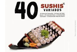 Combinado 40 Sushis Variados