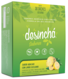 Desincha Sabores Abacaxi Com Limão 30 Sachês