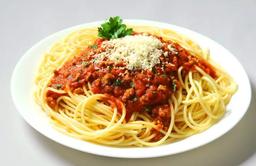 Spaghetti à Bolonhesa - Serve 1 Pessoa