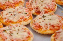 Mini pizza à Moda Calabouço