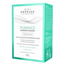 Propuriance Kit Puriance Com 2 Sabonete Barra Profuse 80 g