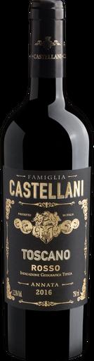 Vinho Tinto Famiglia Castellani Toscana Igt 2016 750 mL