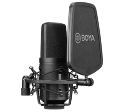 Microfone Condensador Voz E Instrumento Boya By-M800