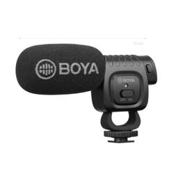 Microfone Mini Shotgun Para Smartphones E Câmeras Boya By-Bm3011