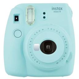 Câmera Instantânea Fujifilm Instax Mini 9 - Cor Acqua Azul